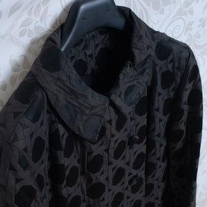 Bergdorf Goodman Jackets & Coats - BERGDORF GOODMAN on the plaza vintage black coat